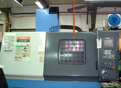 Double column type machining center